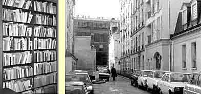 Rue Amyot and the Gauquelin's library